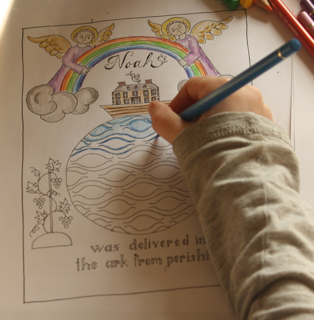 Portraits Of Deliverance Coloring Pages