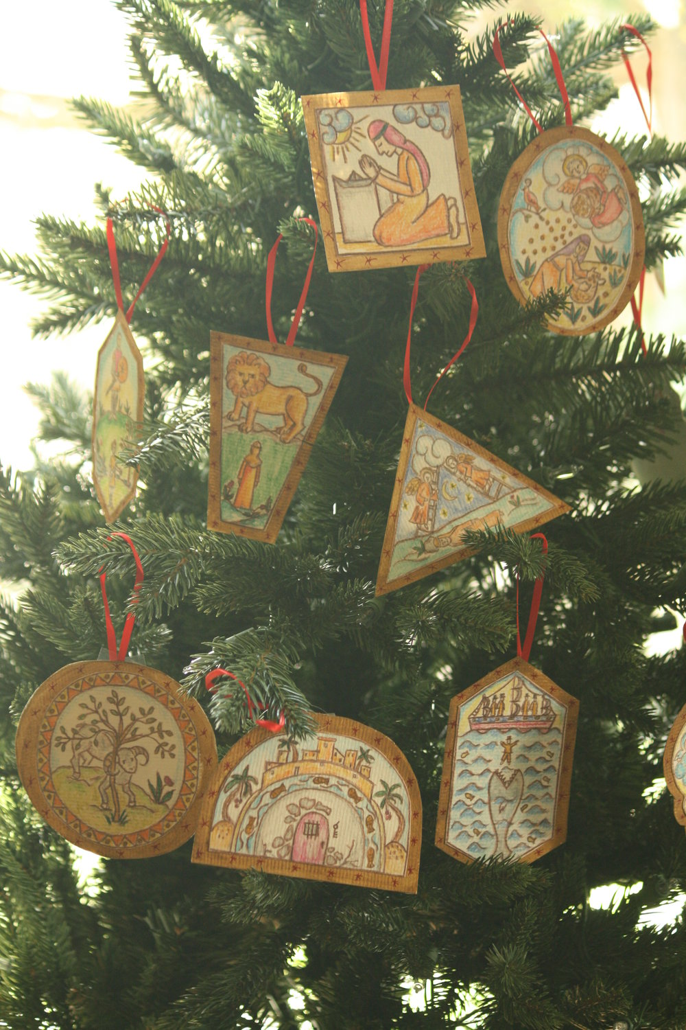 Portraits Of Deliverance Ornaments