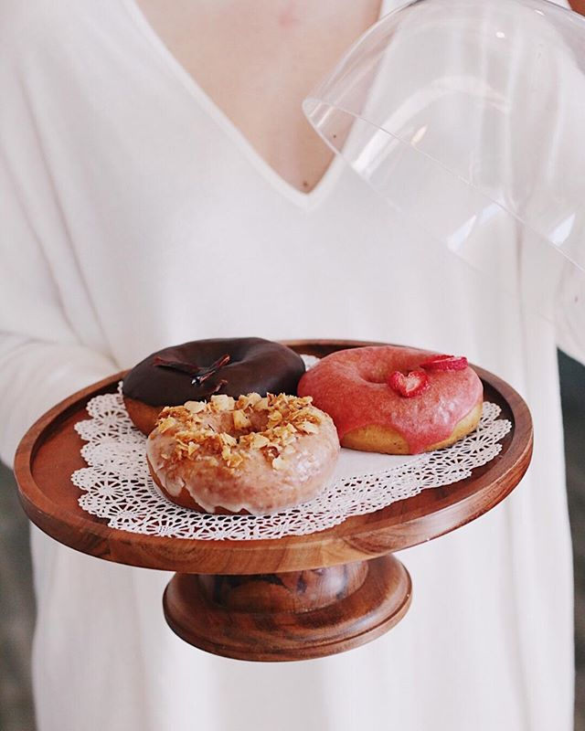 Too much wine last night? Pop into our friend & neighbor @eatatjewel for these delightful vegan donuts.