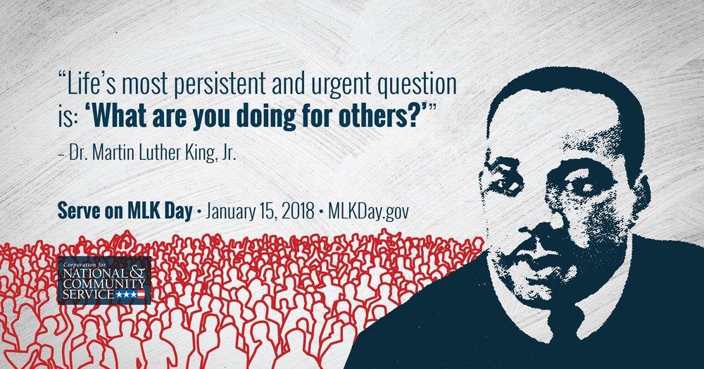MLK Day 2018