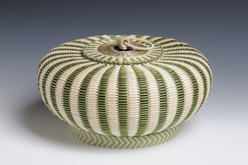 Green Urchin basket