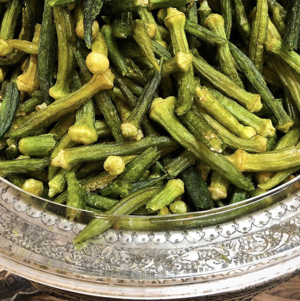 Okra Chips - Popular, a unique draw