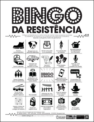Download Resistance Bingo in 4 languages.