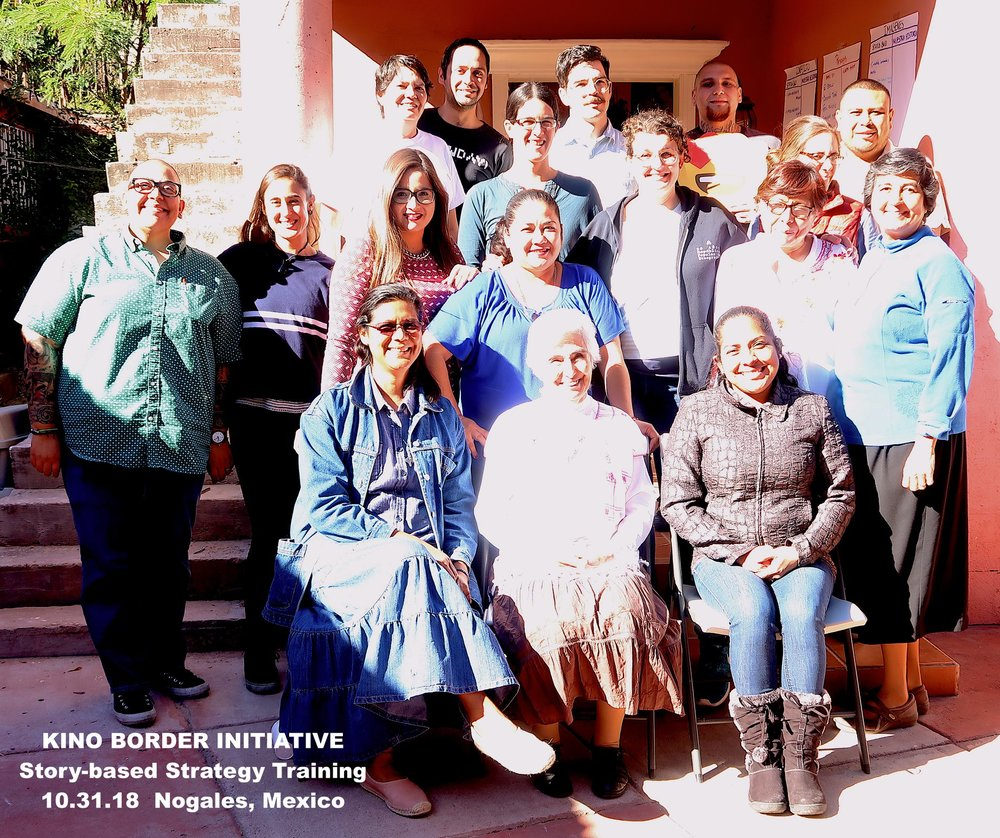 10-31-18 — Kino Border Initiative story-based strategy training in Nogales, Mexico