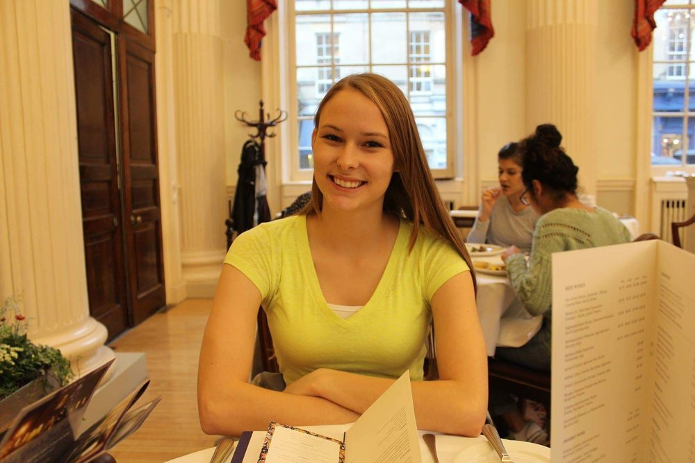 ensen has been involved in many activities throughout her time at UMD, including the mock trial team. Photo courtesy of Anna Jensen.