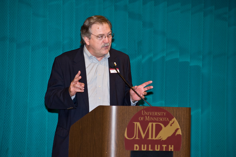 Lendley C. Black is the chancellor of the University of Minnesota Duluth. Photo by Lynne Williams
