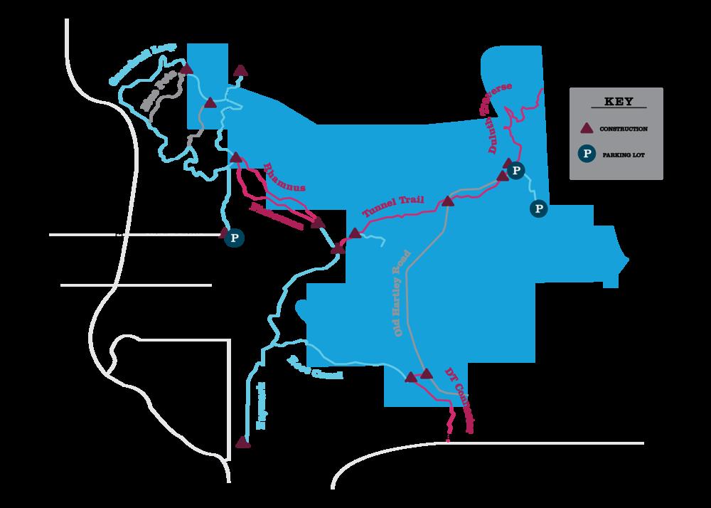Map by Rebecca Kottke