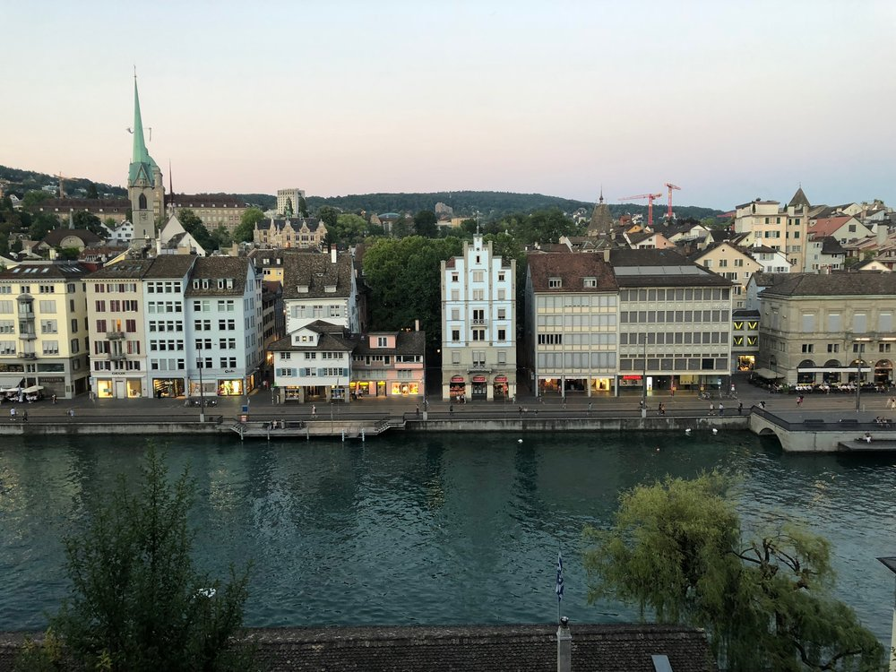 The Limmat River