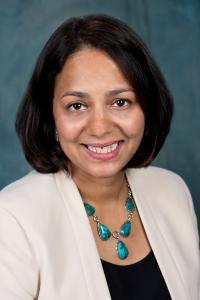 Rebecca de Souza, associate professor and UMD Faculty Senate Chair. Photo courtesy of UMD