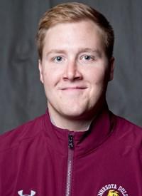 Senior caption linebacker, A.J Naatz (No. 31). Photo courtesy of UMD Athletics