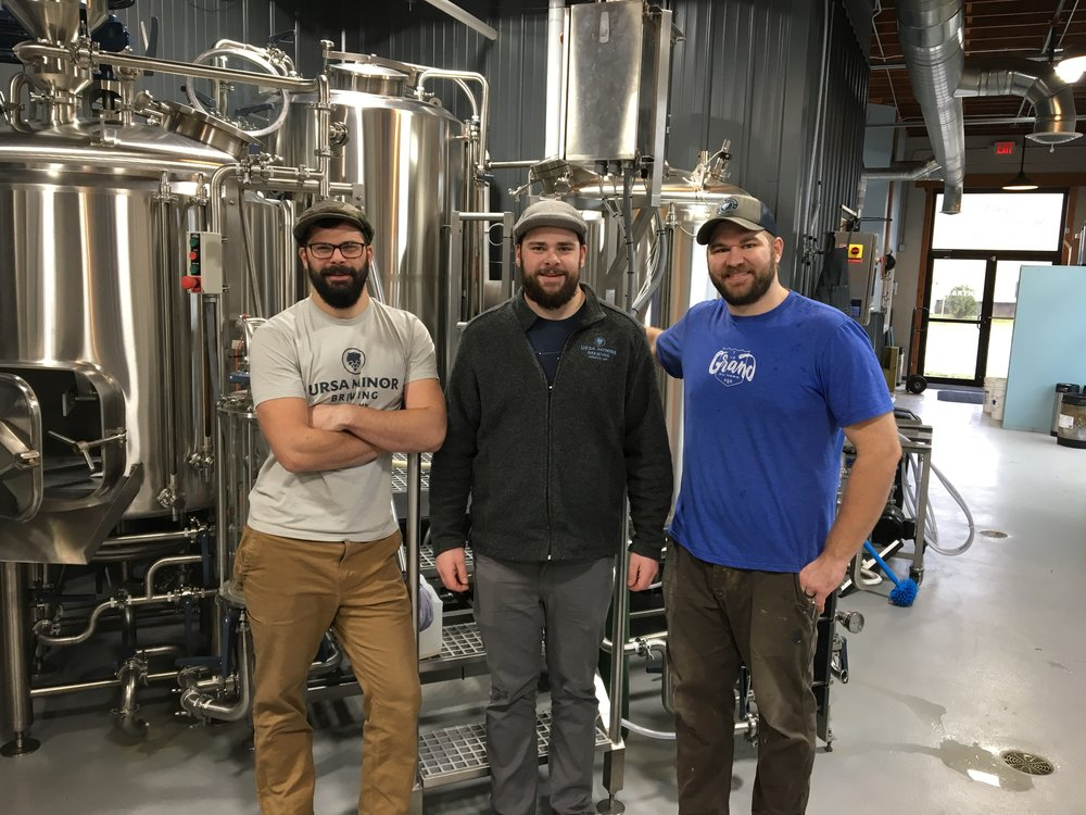 From left, Ben Hugus, Mark Hugus, and Andrew Scrignoli. Photo by: Vincent Harvieux