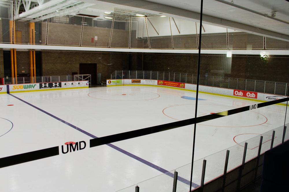 The RSOP ice rink. Photo by Morgan Pint