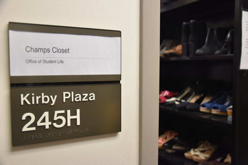 Champ's Closet. Photo by Zack Benz