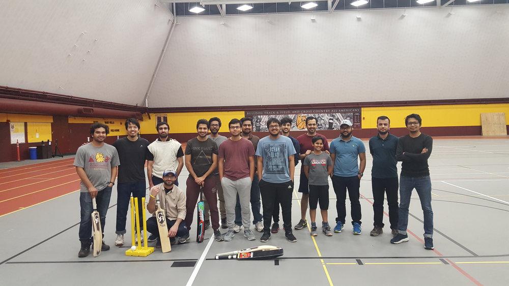UMD's Cricket Club. Photo curtesy of Nabeel Ahmad