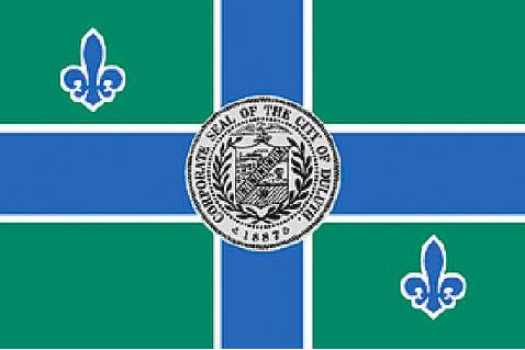 Current Duluth Flag. Photo courtesy of City of Duluth