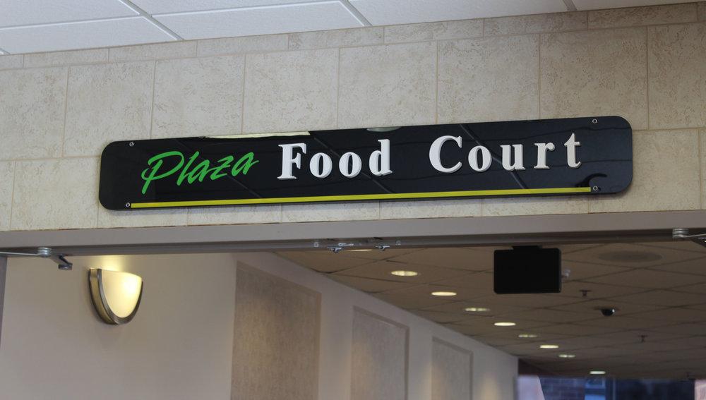 Entrance of the Kirby Plaza Food Court, Photo Courtesy of Eema Ibrahim
