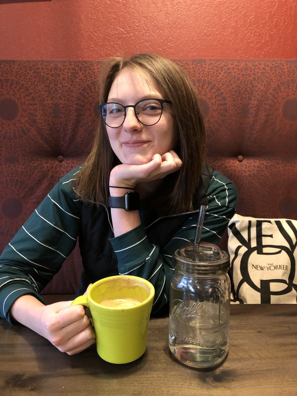 Outgoing Editor-in-Chief Samantha Church