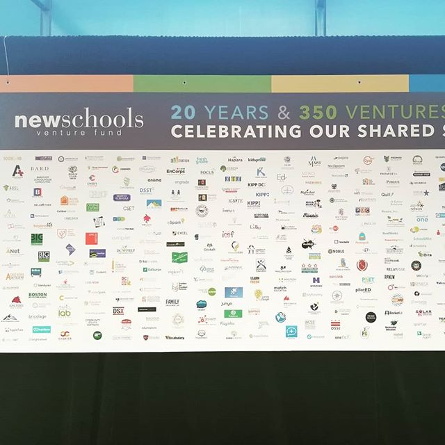 Comp Sci High is so honored and excited to be in our 2nd year with New School Venture Fund! #nsvfsummit