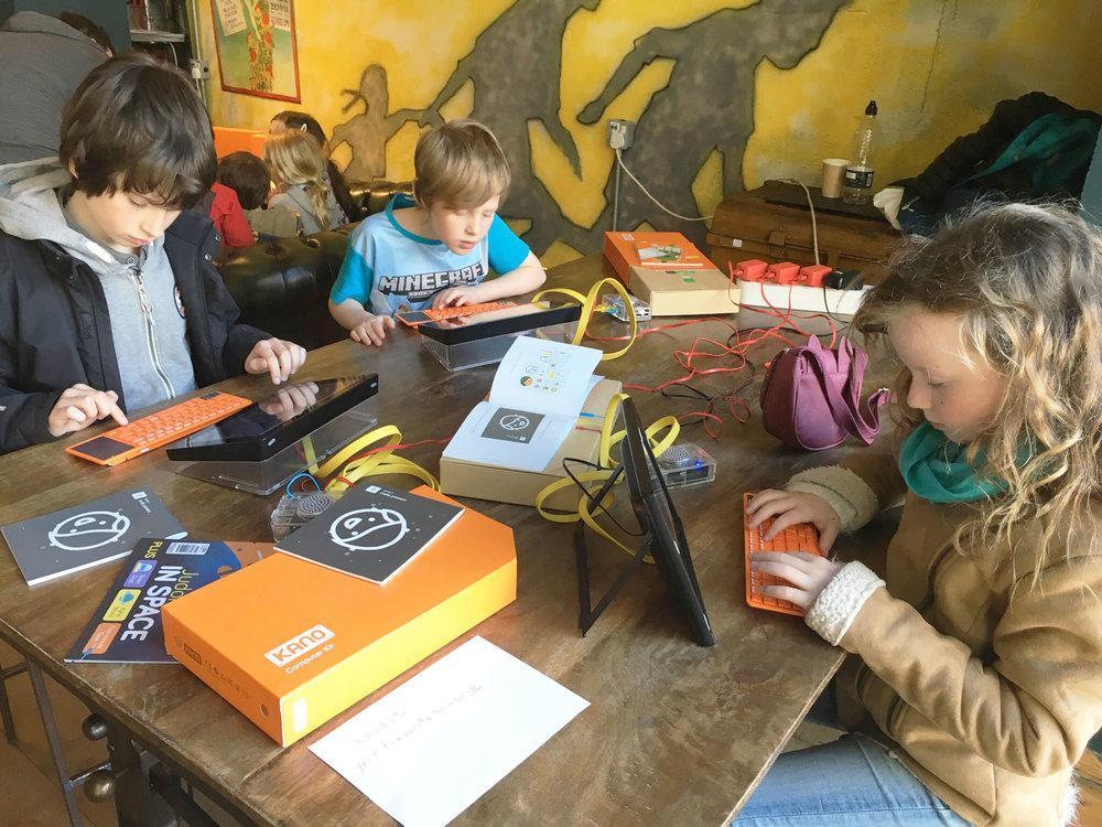 Tech Kids with Kano Computers, Leeds Digital Festival