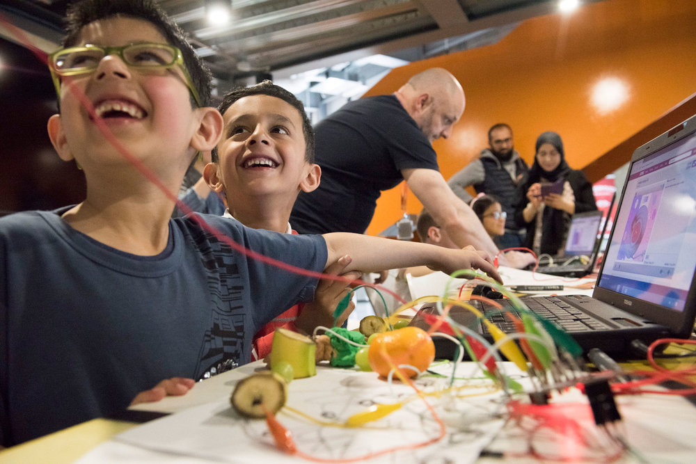 Tech Kids Day with Leeds Library Labs, Leeds International Festival