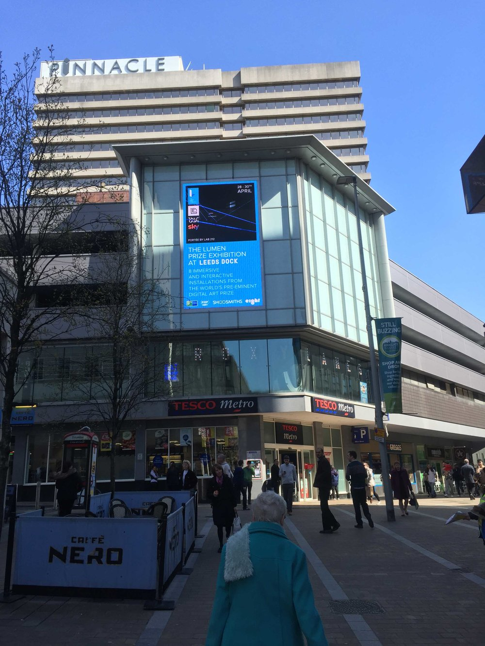 We produced a digital ad and embedded film and secured 3 weeks of free ad space at a central Leeds prominent screen.