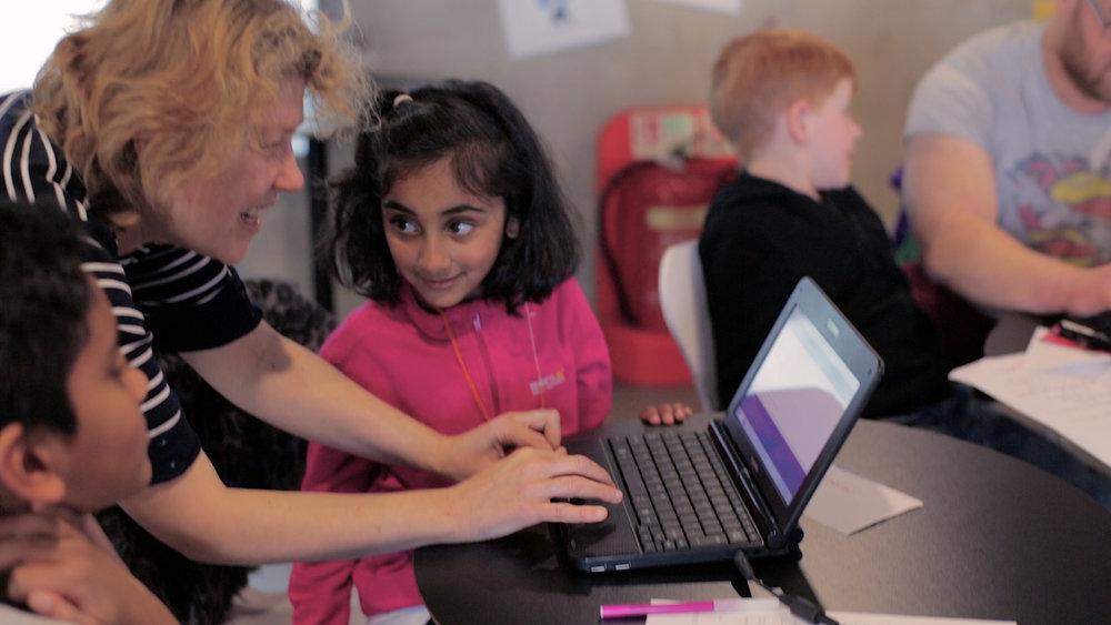 'Bug Club'  Creative coding workshop by Lumen Prize winners 'Genetic Moo'