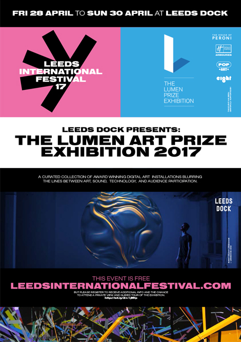 We worked with the brilliant  Rabbit Hole  Studio to create Leeds International Festival brand posters for the exhibition.