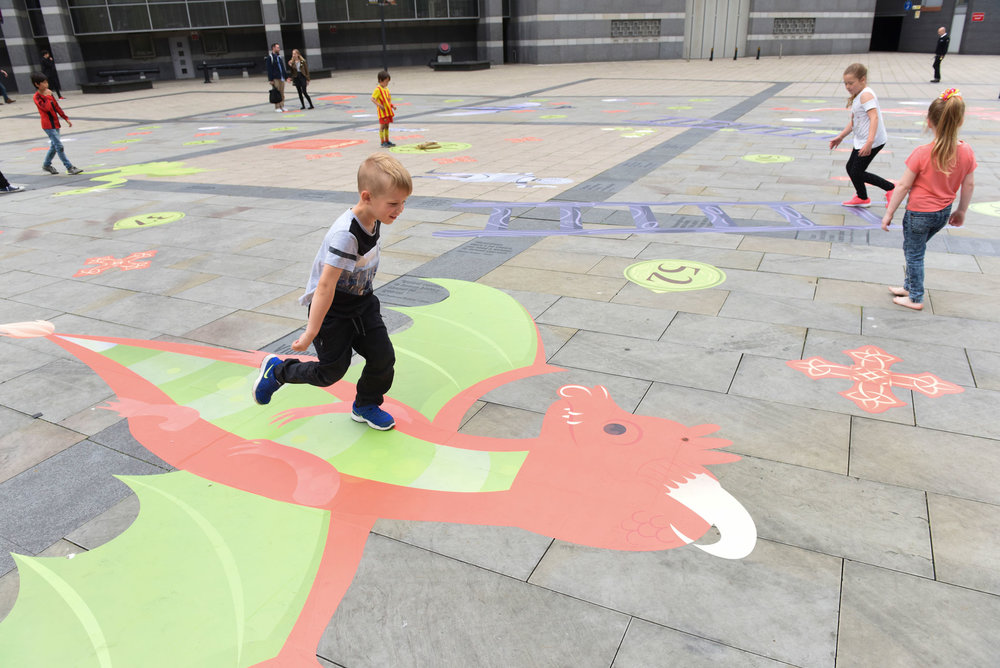 Dragons & Ladders at the Royal Armouries Museum:  A fun and educational enlivenment activation that dramatically increased dwell time and drove footfall. Find out more...