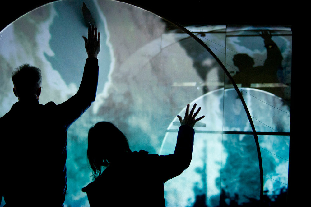 Lumen Prize Exhibition 2016:  A collection of interactive, immersive installations that blurred the lines of art, technology, sound and audience participation. Find out more...
