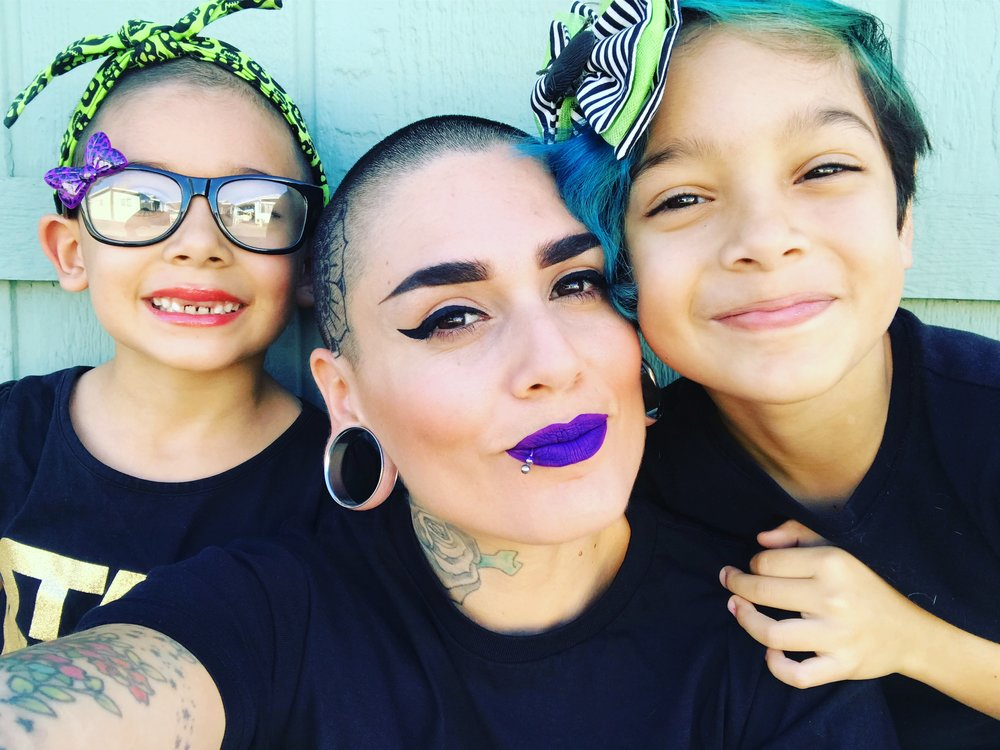 Cyndee and her daughters.