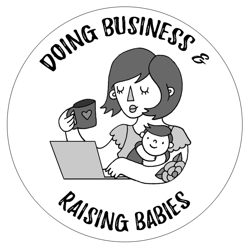 business doing business and raising babies First Aid CPR AED Clip Art