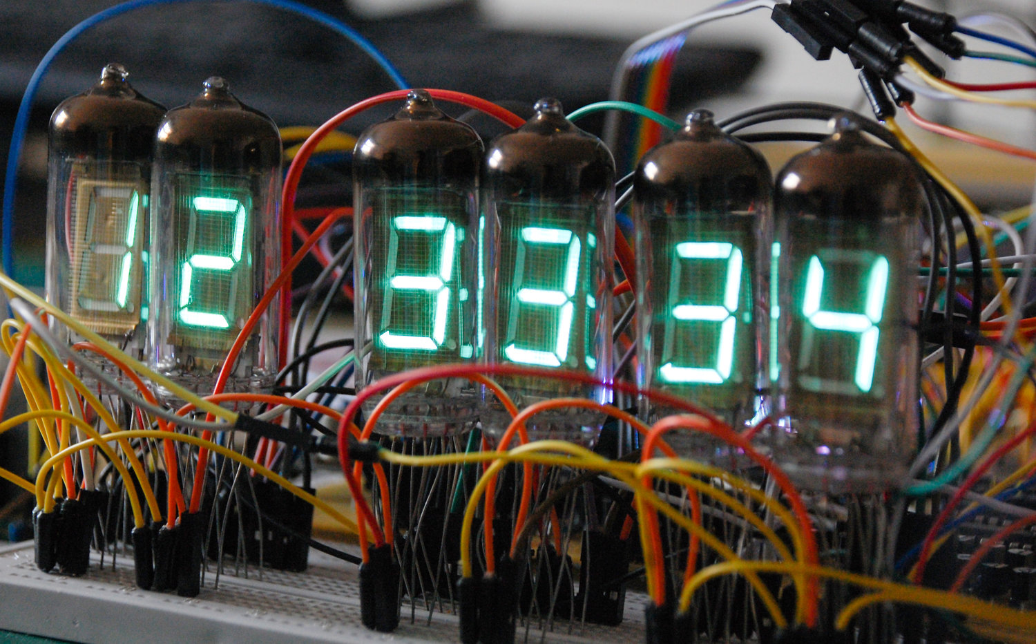 Designing Your Own Vfd Clock I The Tube Circuit Collective Right Side Is Their Drawing Left Timer