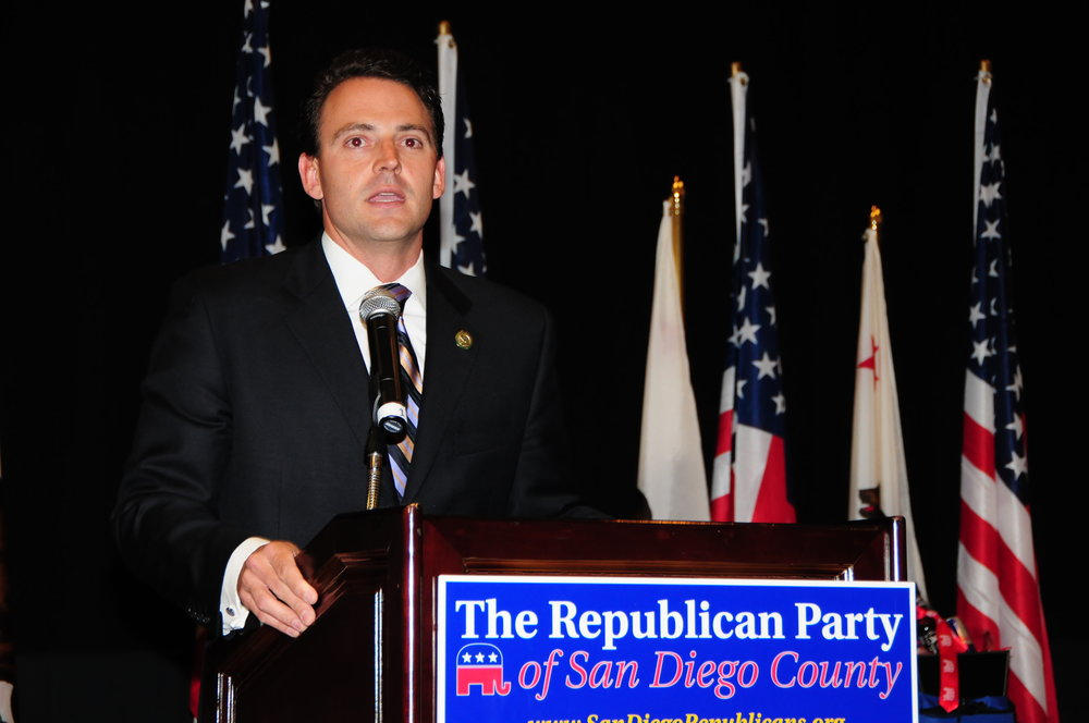 Always a top fundraiser for the San Diego County Republican Party
