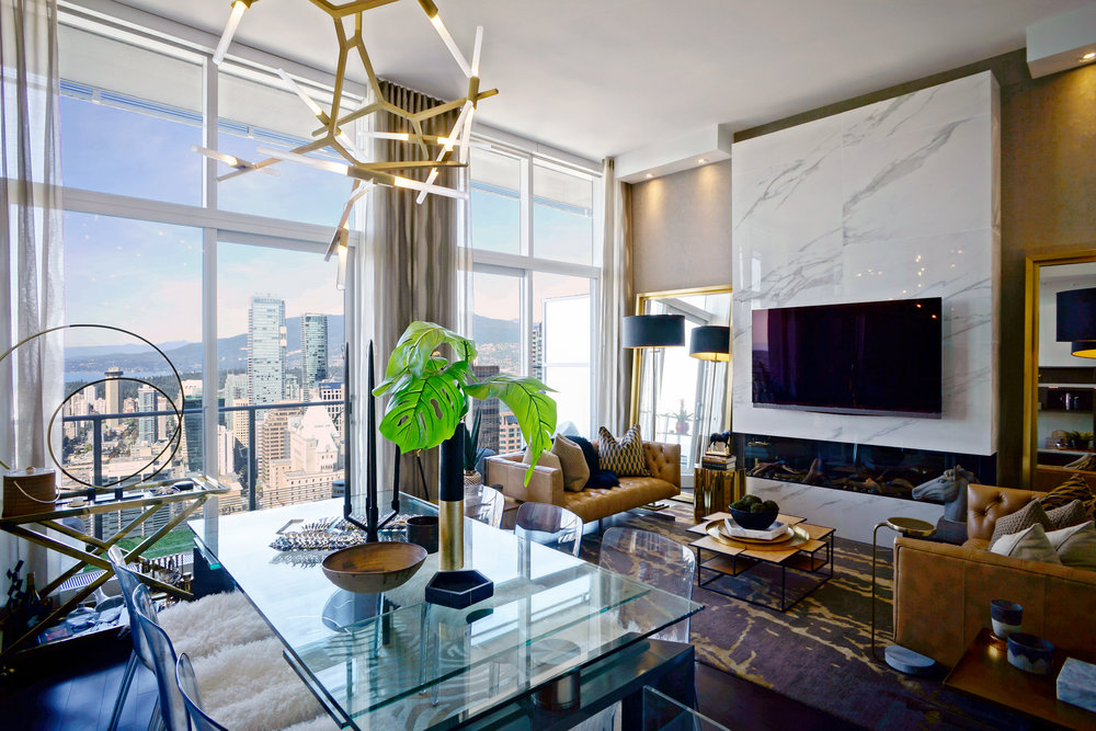 Luxury Penthouse Residential Listing  - AISA Real Estate- Penthouse 2 – 777 Richards Street, Vancouver, BC.