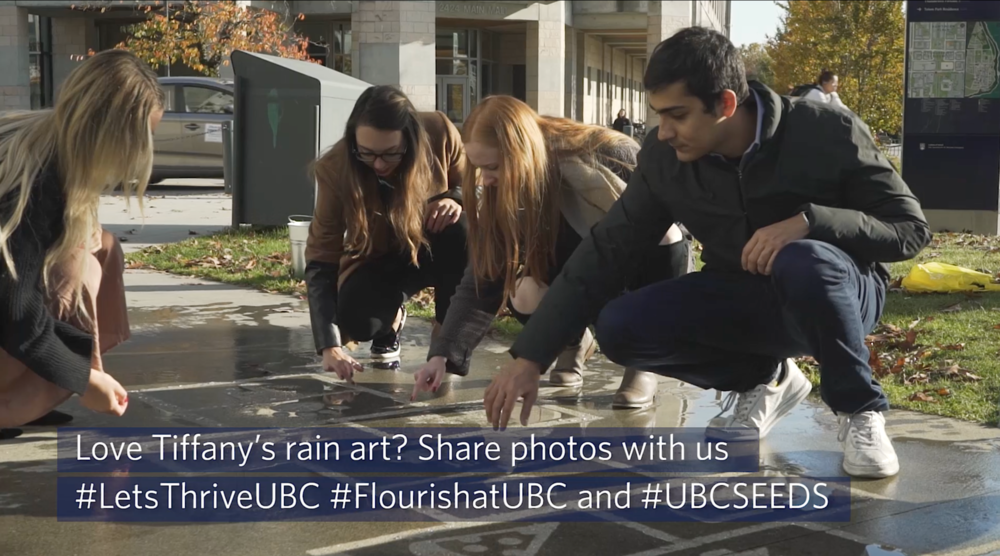 UBC Rain Grafitti Project -