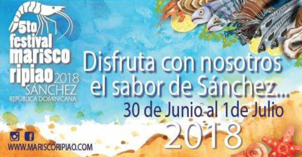 J U N I O 30 - 5to. Festival del Marisco Ripiao - Sánchez, Samaná.