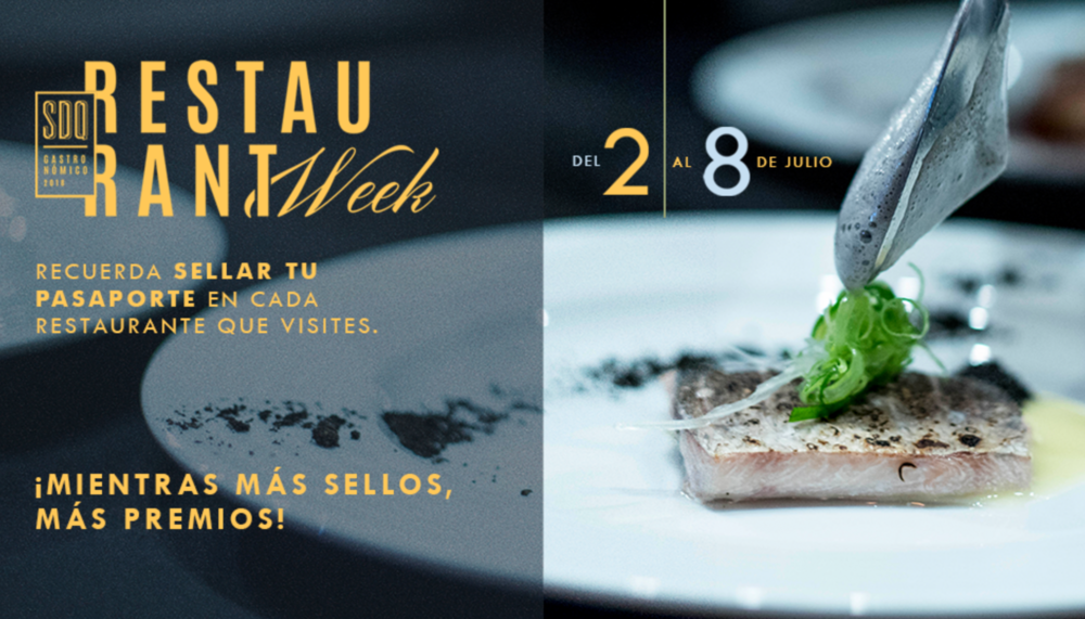 SDQ Restaurant Week - JULIO 2-8  - SantoDomingo