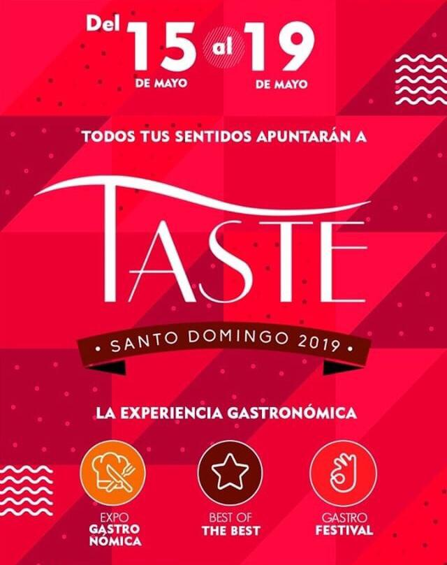 Early Bird: Taste Santo Domingo | 15-19 mayo´19
