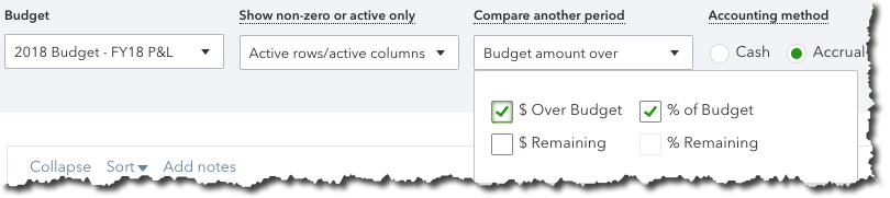 You can customize QuickBooks Online reports in several ways.