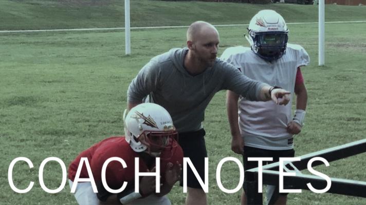 coach notes