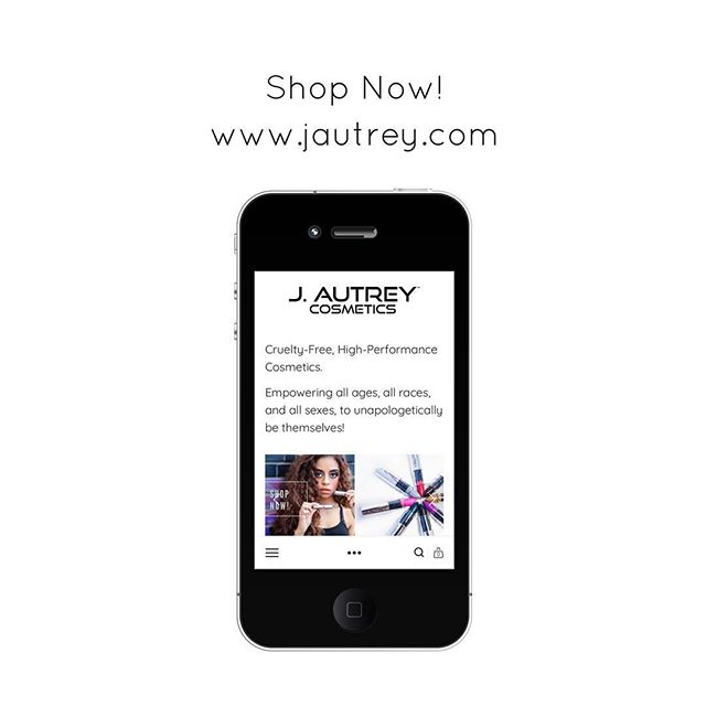 Have you visited jautrey.com? Find your perfect lipstick and more, today! Click link in bio or visit www.jautrey.com 😘 #jautreycosmetics
