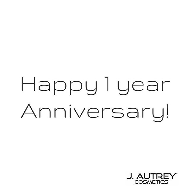 It's our birthday, and we couldn't be more thankful and overly excited! What better way to celebrate than with $10-off of all lipsticks! This weekend, only! www.jautrey.com 🎉#jautreycosmetics