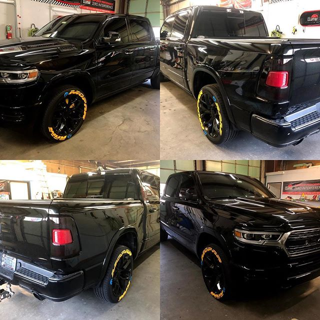 This brand new Dodge Ram looks beastly all blacked out. Kerry blacked out the mirrors, grill and chrome trims to produce this menacing look. 3M vinyl from FELLERS is great!  Veteran Owned and Veteran Operated!  Call us for your tint and vinyl needs 910-506-8468 (TINT)  www.InvictusAA.com  @dodgeofficial @dodgenation @ffellers @3mfilms @crowndodgefayvl #dodgetrucks #dodgeram #ramtrucks #veteranowned #veteranownedbusiness #veteranownedandoperated #vetrepreneur #blackedouttruck #blackedout #hemi