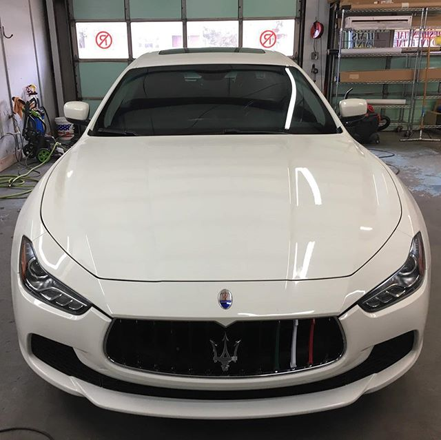 An absolutely stunning Maserati Ghibli came by for some chrome delete work and tail light tint. 3M from FELLERS works great! Thanks for bringing this beauty by!  Veteran Owned and Veteran Operated! Call us for your tint or vinyl needs! 910-506-8468 (TINT) www.InvictusAA.com  @ffellers @maserati @maserati_motorsport_ @f250_gs350_maserati_ghibli #veteranbusiness #veteranownedandoperated #vetrepreneur #veteranownedbusiness #veteranownedsmallbusiness #maseratighibli #maserati @3mfilms