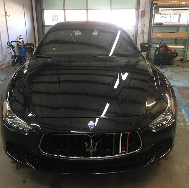 Another one! This beautiful Maserati Ghibli came by for full LLumar Window Film. The results speak for themselves!  Veteran Owned and Veteran Operated! Call us for your all your window tinting needs! 910-506-8468 (TINT) www.InvictusAA.com  #veteranbusiness #veteranownedandoperated #vetrepreneur #veteranownedbusiness #veteranownedsmallbusiness #maserati #maseratighibli @llumarfilms @f250_gs350_maserati_ghibli @maserati @maserati_motorsport_