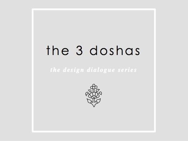 Next up on the Design Dialogue: The 3 Doshas ☯  What is your dosha? And how do you design for it? Read on to learn more and feel free to comment + connect!  Happy Saturday Loverlies, 🖤 K.  #TheDesignDialogue #AyurvedaForTheHome #The3Doshas #KindDesign  www.karlenebaskind.com