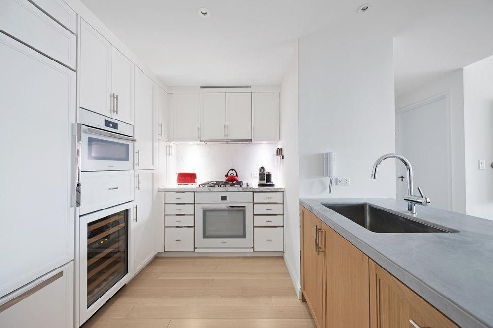 Kitchen, Battery Park City, New York Residence