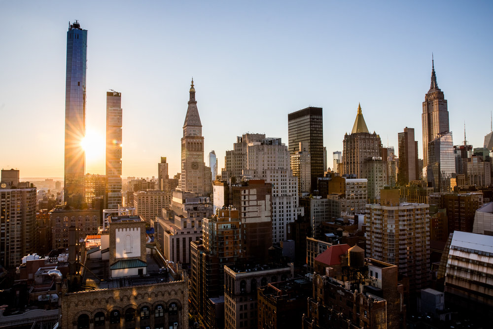 NYC in Sunset