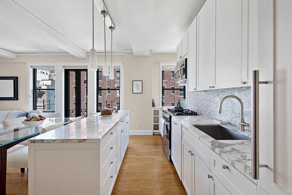 Kitchen, Residence in Greenwich Village NYC