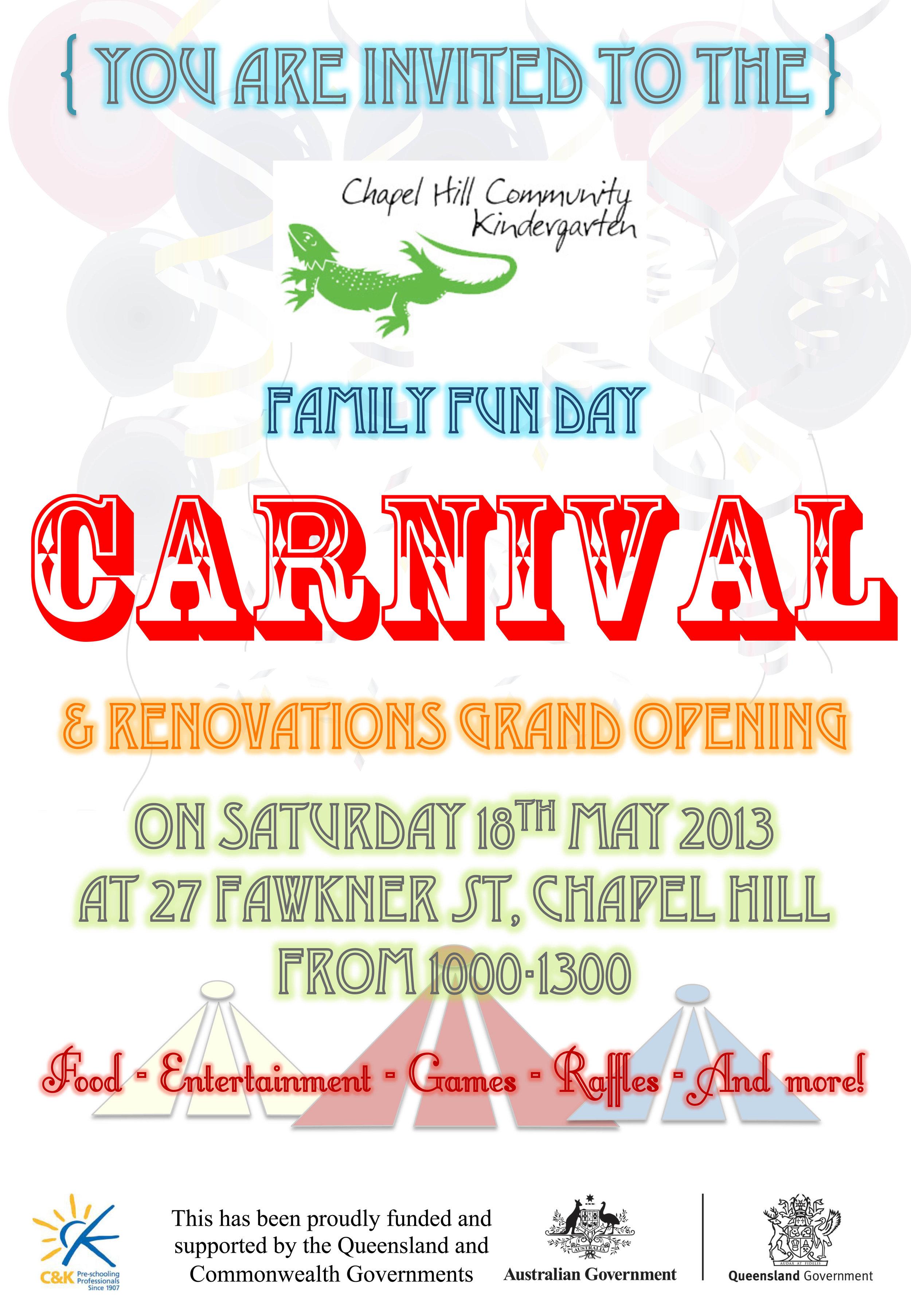 family fun day invite